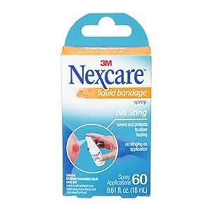 No-Sting Liquid Bandage Spray, .61 oz., Sold as 1 Each