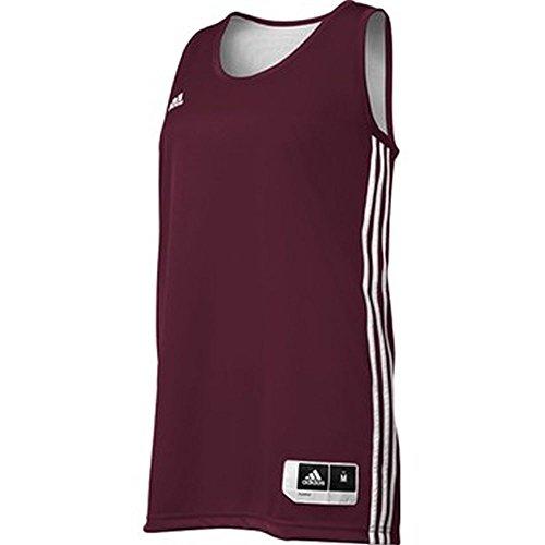 Adidas Womens Reversible Basketball Practice Jersey L Mar...