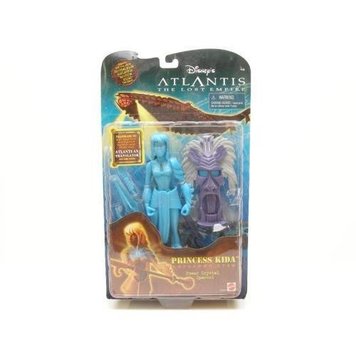 Atlantis Submarine - Atlantis Disney's the Lost Empire Princess Kida - Crystal Variant Action Figure