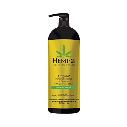Hempz Original Herbal Conditioner for Damaged & Color Treated Hair 33.8 ()