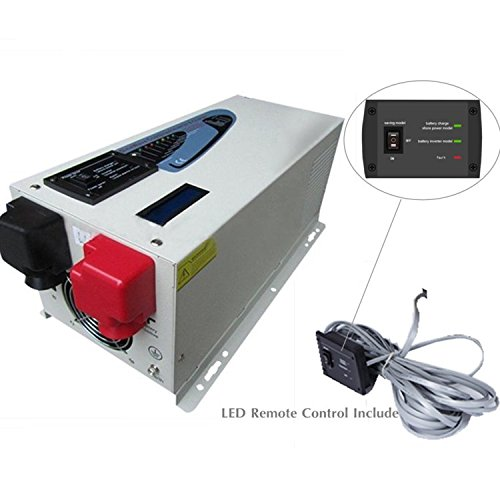 Power Inverter 4000 W pico 12000 W Cargador inversor de onda ...