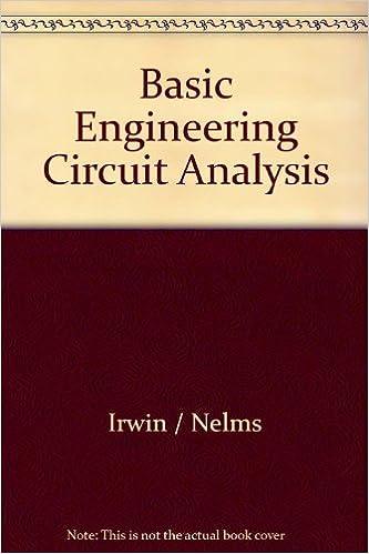 Basic Engineering Circuit Analysis Book