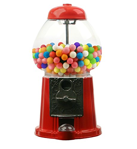 15 Inch Gumball Machine Candy Dispenser - Antique Style