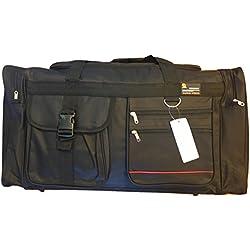 "NEW BLACK 28"" 50lb. Capacity Duffle Bag/ Gym Bag / Luggage / Suitcase/Tote"
