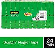 Scotch Brand Magic Tape, Numerous Applications, Cuts Cleanly, Engineered for Office and Home Use, 3/4 x 1000 I