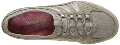 Skechers Breathe-Easy-Moneybags, Zapatillas para Mujer Beige (Tpe)