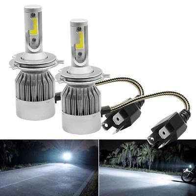 Par Lámparas LED coche Faros H4 Moto kit bombillas 36 W luz blanca 6000 K 3800LM: Amazon.es: Coche y moto