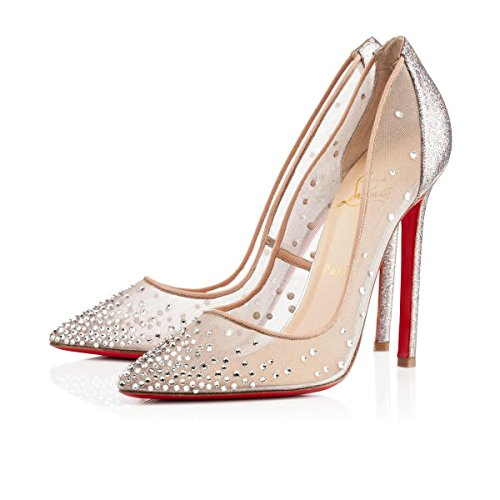 71428b96a8f Christian Louboutin Crystal Embellished Body Strass 120mm Heels (38 ...