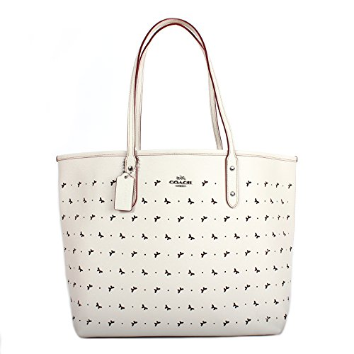 Coach Perforated Leather Bag - 6