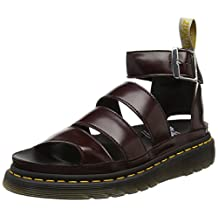 Dr. Martens Women's Clarissa Leather Ankle-High Leather Sandal