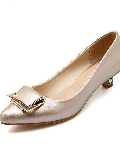 GGX/Damen Schuhe-Frühjahr/Sommer/Herbst Spitz Zulaufender Zehenbereich Heels Hochzeit/Party & Abend/Kleid/Casual Low Heel pink-us8 / eu39 / uk6 / cn39