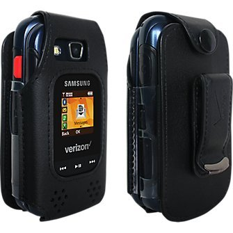 Verizon Fitted case for Samsung Convoy 4- Black ()