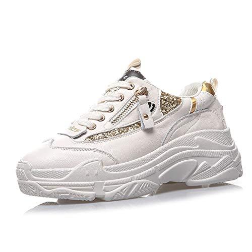 Mzq Zapatos Los Mujeres yq Las Libre De Gold Running Tennis Aire Mujeres Y Al Deportes Tenis FFBXwr