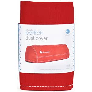 Silhouette Portrait Dust Cover, Red