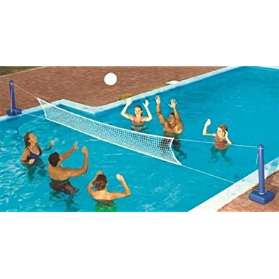 DSA Trade Shop Swimming Pool Fun Volleyball Net Game Water Set: Toys & Games
