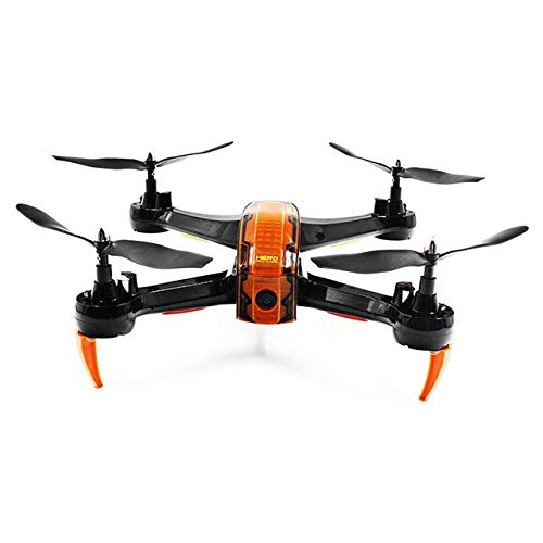 XuBa 2019 RC Drohnen WiFi FPV 720P HD Drohne Dron 2,4 GHz 4 Kanal 6-Achsen Gyro RTF Helikopter mit LED-Licht Sideward Flight Copters Spielzeug schwarz/Orange