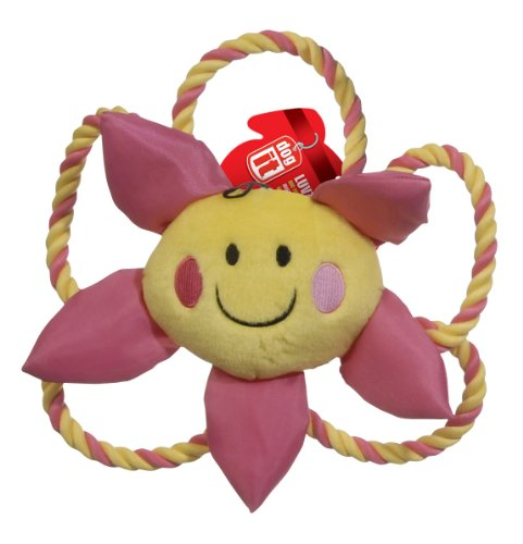 Hagen Small Dogit Happy Luv Toy, Flower, My Pet Supplies