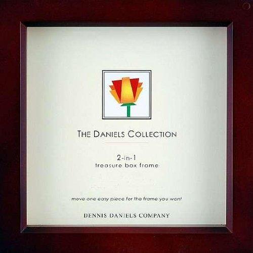 "Dennis Daniels Wood Treasure Box Picture Frame, 5 by 5"", Dark Walnut"