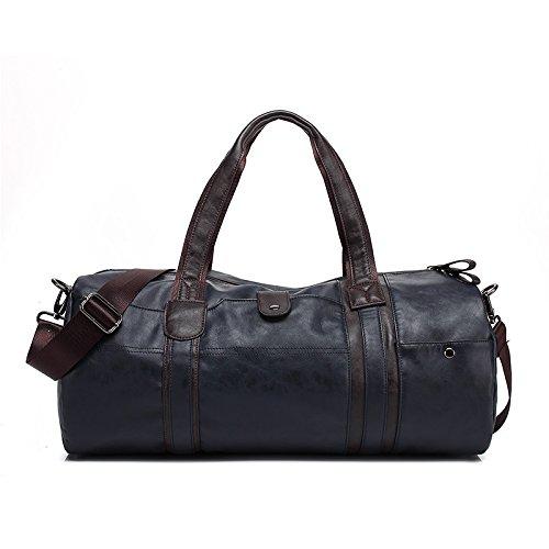 Alger Tasche Vintage Manner Schultertasche Handtasche Braun A 62st4