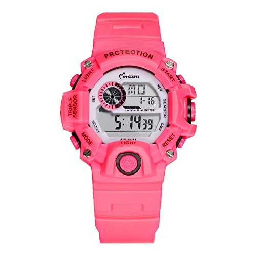 Kids Girls Sport Watches Waterproof LED Digital Multi-functional Wrist Watches