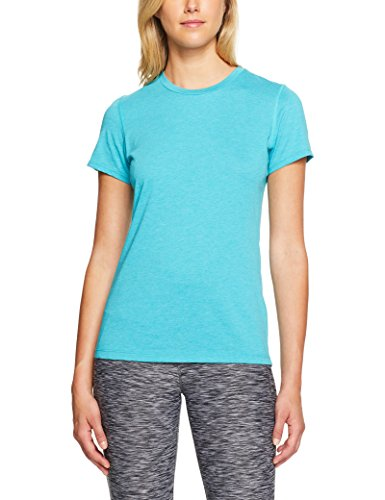 New Balance Women's Heather Tech Tee Pisces Heather Medium (Tech Good Womens Tee)