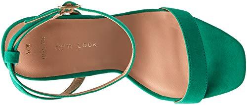 Foot Wide Sensie Ouvert Femme New Escarpins Vert Bright 30 Green Bout Look H4wxAqES