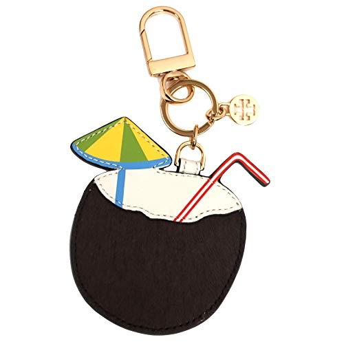 Tory Burch Keyfob Keychain Coconut Drink