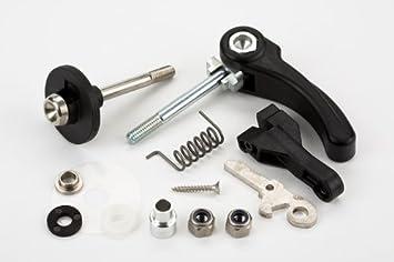 Brompton - Juego de piezas de repuesto para cuadro trasero de bicicleta plegable