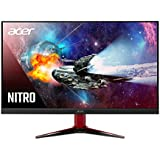 Acer Nitro VG272 Xbmiipx 27 inch Full HD (1920 x 1080) IPS AMD Radeon FreeSync and G-SYNC Compatible Gaming Monitor  240Hz  Up to 0.1ms Response Time  (1 x Display Port & 2 x HDMI 2.0 Ports)  Black