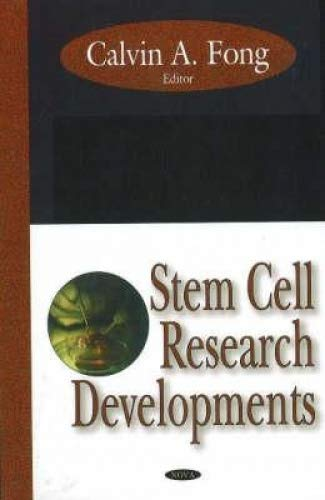 Download Stem Cell Research Developments ebook