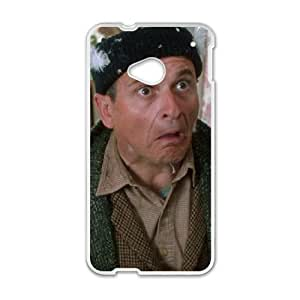 Home Alone HTC One M7 Cell Phone Case White Y7408674