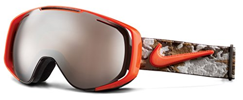 Nike Khyber Ski Goggles, Silver Ion, Baroque Brown