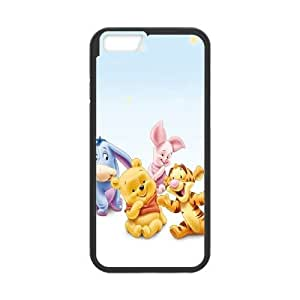 iPhone6 Plus 5.5 inch Phone Case Black Winnie the Pooh ESTY7864746