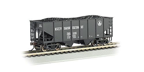 - Bachmann Industries HO Scale 55 Ton 2-Bay USRA Outside Braced Hopper - B&O (Capitol Dome) #723 046