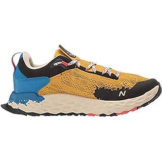 New Balance Men's Fresh Foam Hierro V5 Trail Running Shoe, Varsity Gold/Neo Classic Blue, 13 M US