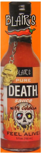 Blair's Pure Death with Jolokia Hot Sauce, 5 Ounce