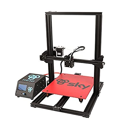 HE3D SKY preensamblado impresora 3D con extrusora de titanio CA ...