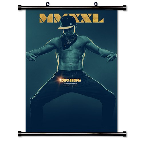 Magic Mike XXL Movie Fabric Wall Scroll Poster (32x47) Inches