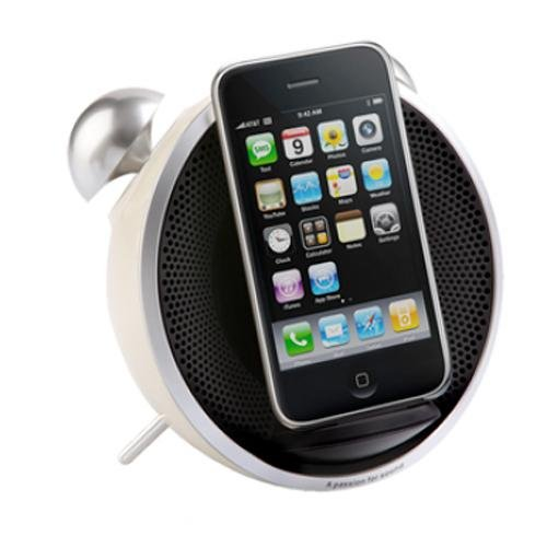 Edifier USA Tick Tock Dock for iPod/iPhone (Beige) by Edifier USA
