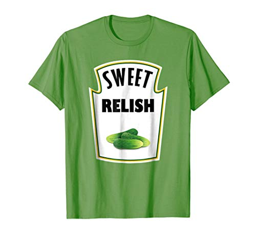 Halloween Costume Relish T-Shirt Group Ketchup