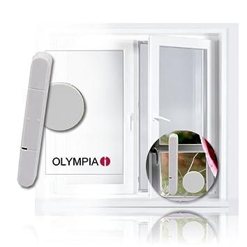 Detector de rotura de cristal (1 unidad) para alarma Olympia Protect 5080: Amazon.es: Bricolaje y herramientas