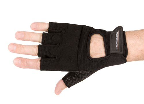 Travelon Luggage All Purpose Gloves, Black, Large