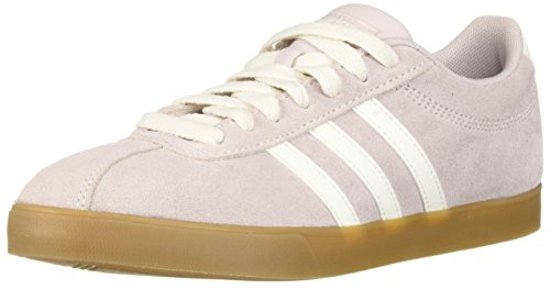 Lilac Ice Apparel - adidas Women's Courtset Sneaker, Cloud White/ice Purple, 9.5 M US