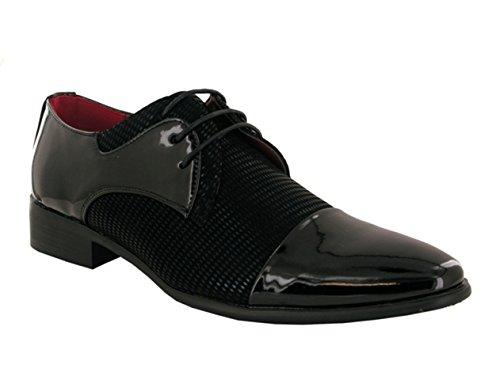 cordones zapatos Other rojo hombre con negro O8qxf0