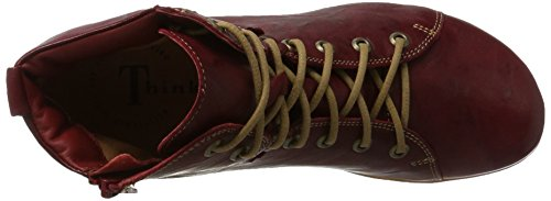 Red Red Red Kombi 181076 Women's Think Menscha UK Boots Desert 72 5 wq8OXxz7
