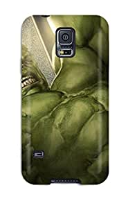 Forever Collectibles Hulk Hard Snap-on Galaxy S5 Case