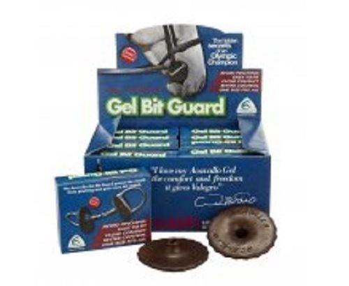 Acavallo Gel Bit Guard-Black-One Size