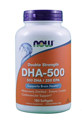 NOW Foods Dha 500Mg Sgels product image