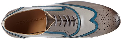Cordones De Melvin Gris Zapatos Mujer Claro Oxford amp;hamilton Sally 38 qwggxFTX