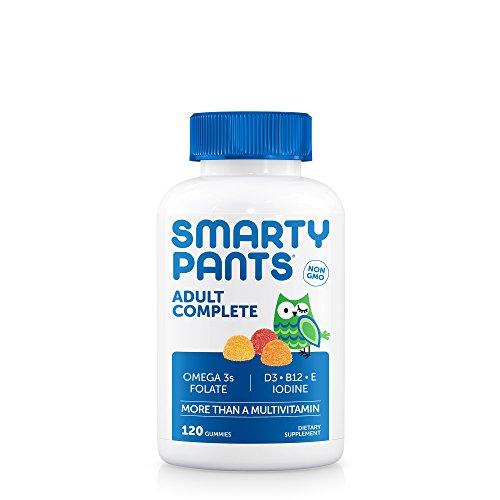 SmartyPants Adult Complete Gummy Vitamins: Multivitamin &...